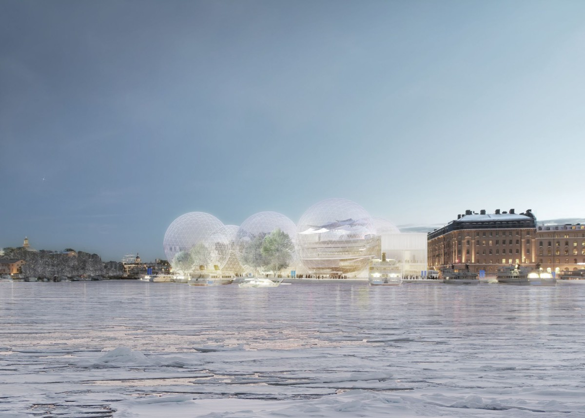 Sanaa . Nobel Center competition proposal . Stockholm  (1)