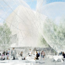 Sanaa . Nobel Center competition proposal . Stockholm  (2)