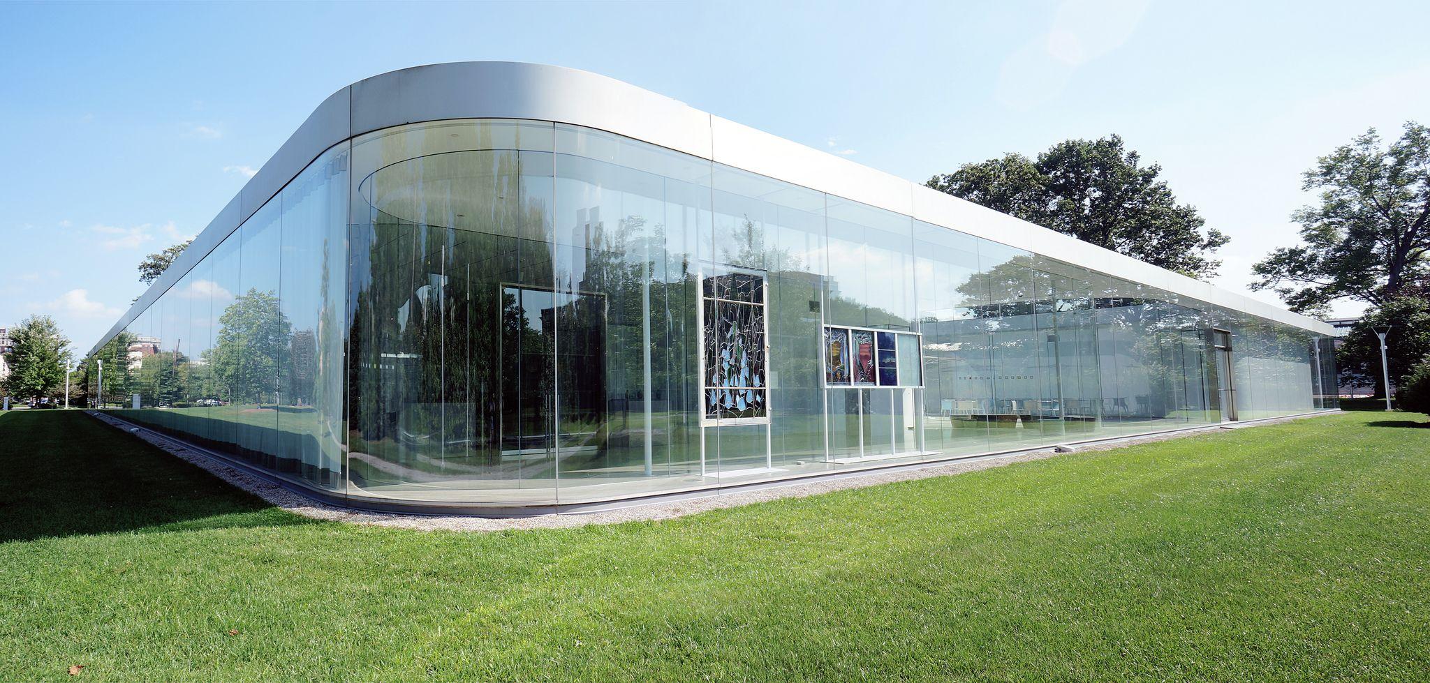 sanaa glass pavilion at the toledo museum of art ohio 2 a f a s i a. Black Bedroom Furniture Sets. Home Design Ideas