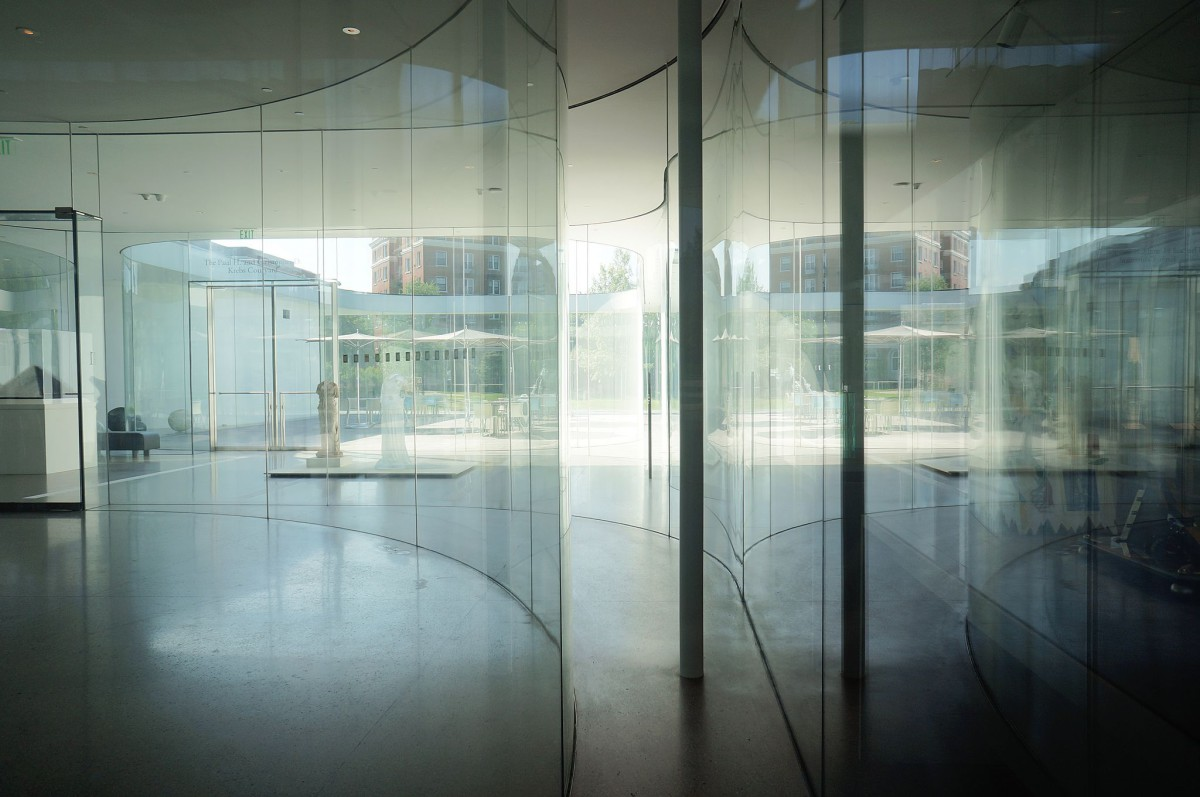 Sanaa Glass Pavilion At The Toledo Museum Of Art Ohio