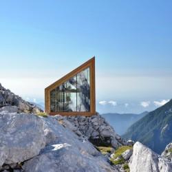 OFIS Architects . Alpine Shelter . Skuta Mountain (2)