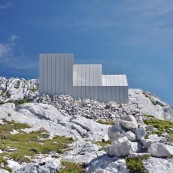 OFIS Architects . Alpine Shelter . Skuta Mountain (6)