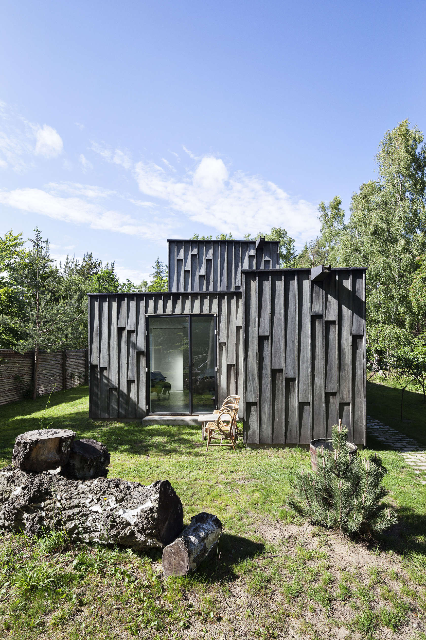 Primus architects a f a s i a for Forest house