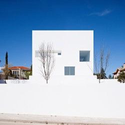 Alberto Campo Baeza . Cala House . Madrid  (1)