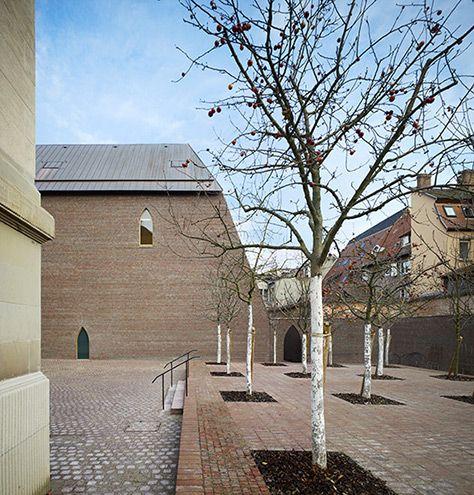 Herzog & de Meuron . Unterlinden Museum expansion . colmar  (5)