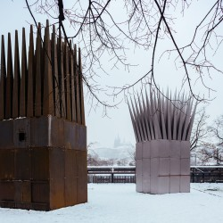 John Hejduk . Jan Palach Memorial . Prague (1)