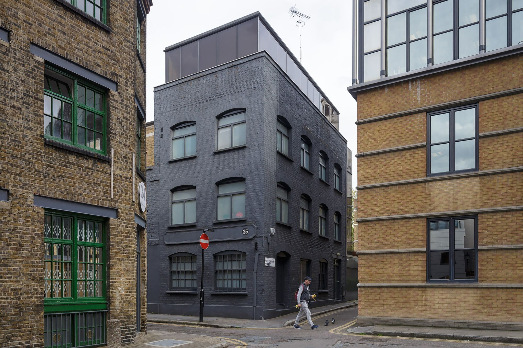 David adjaye a f a s i a for Modern architecture house london