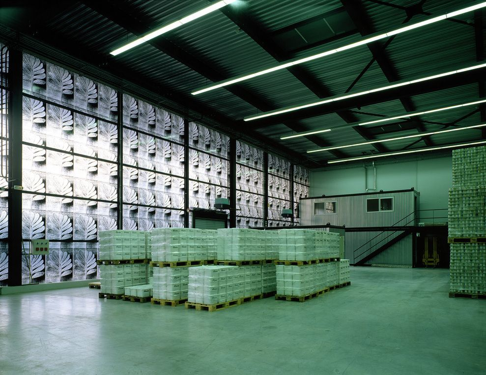 Herzog de meuron ricola production and storage for Production builder