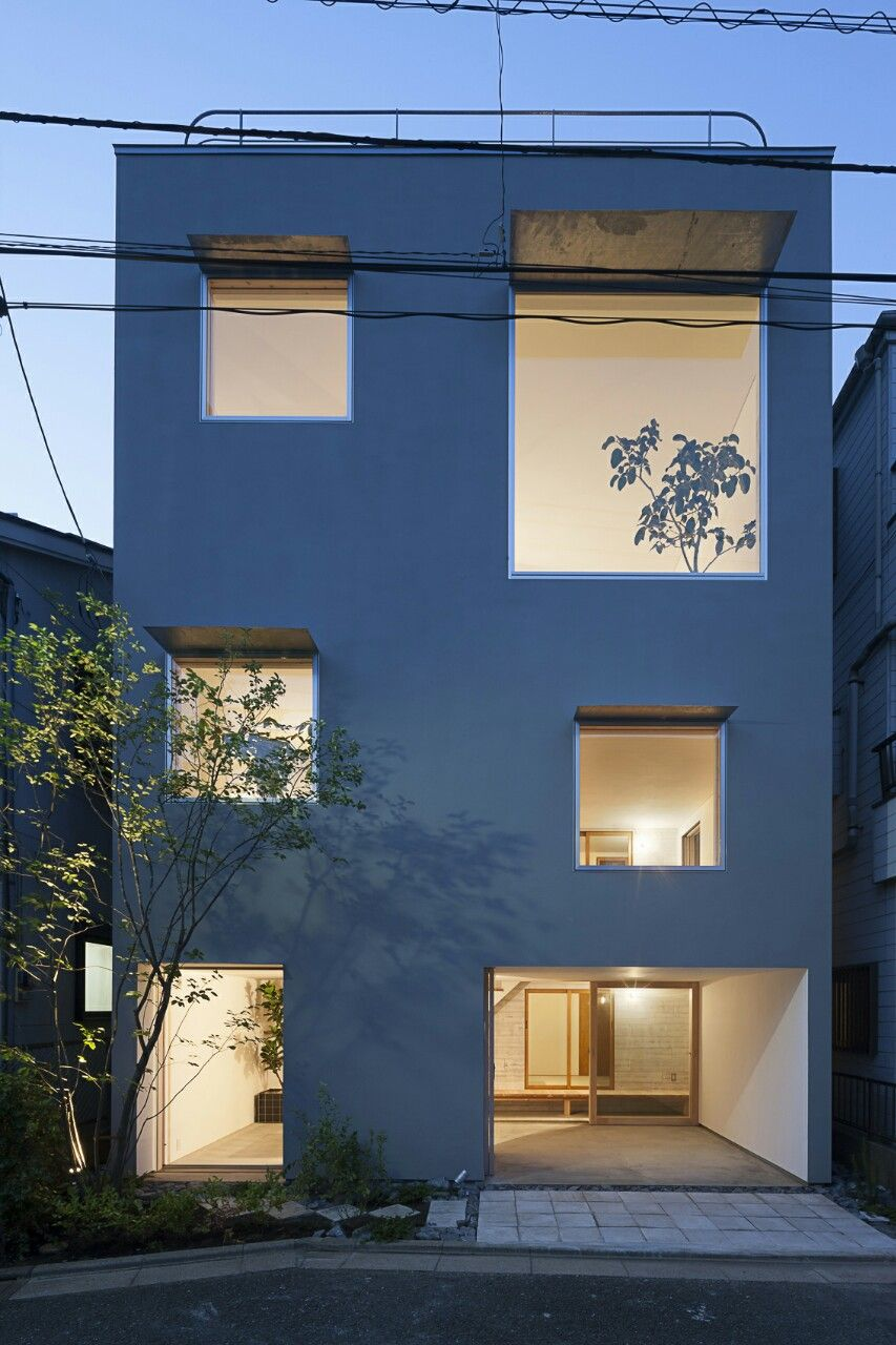 Chika Hagino . The House of Inner & Outer . Tokyo (1)