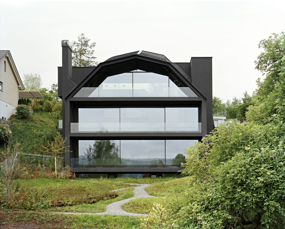 Kerez . Jans . House with a Lakeview . THALWIL (1)