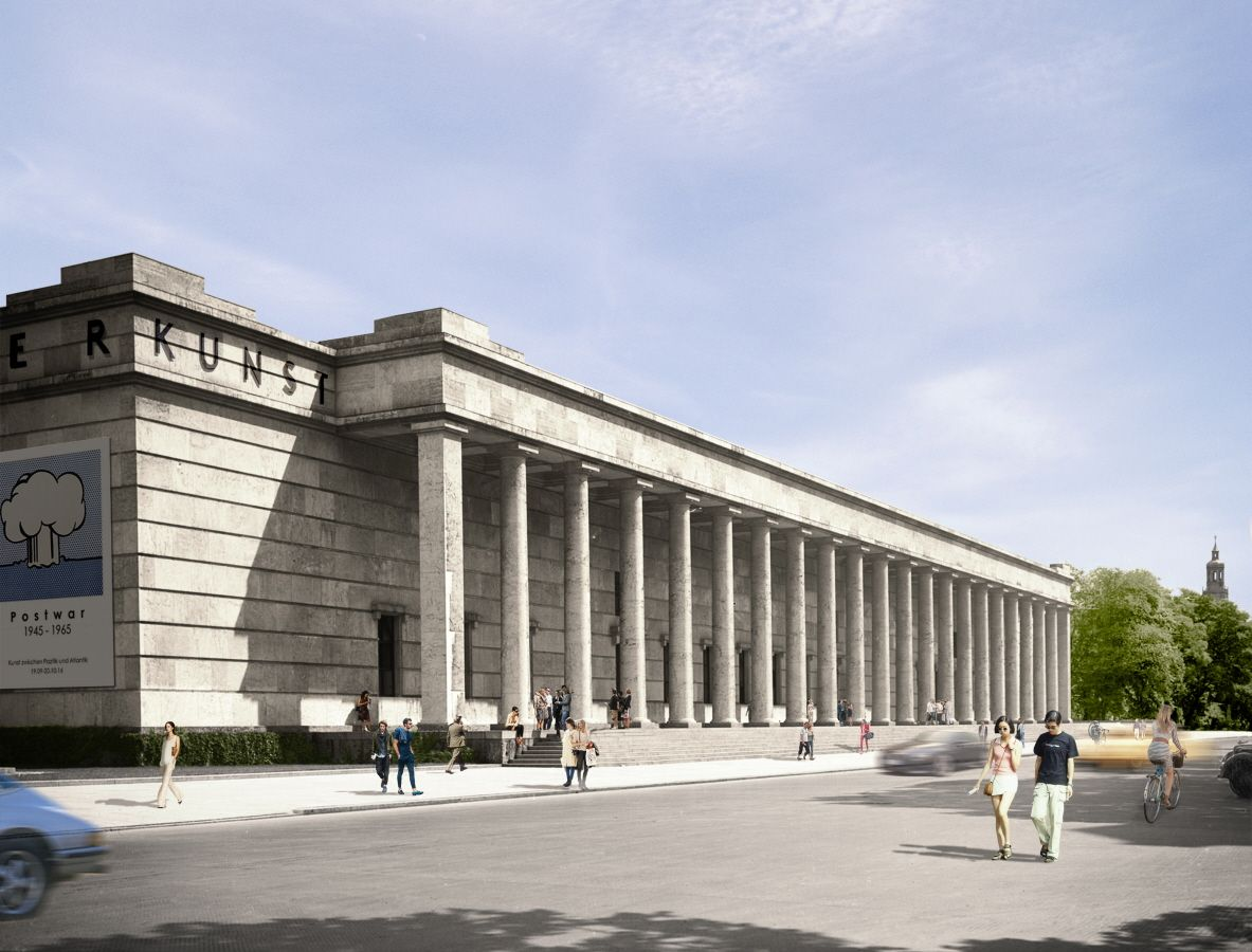 David Chipperfield . Haus der Kunst . Munich  (1)