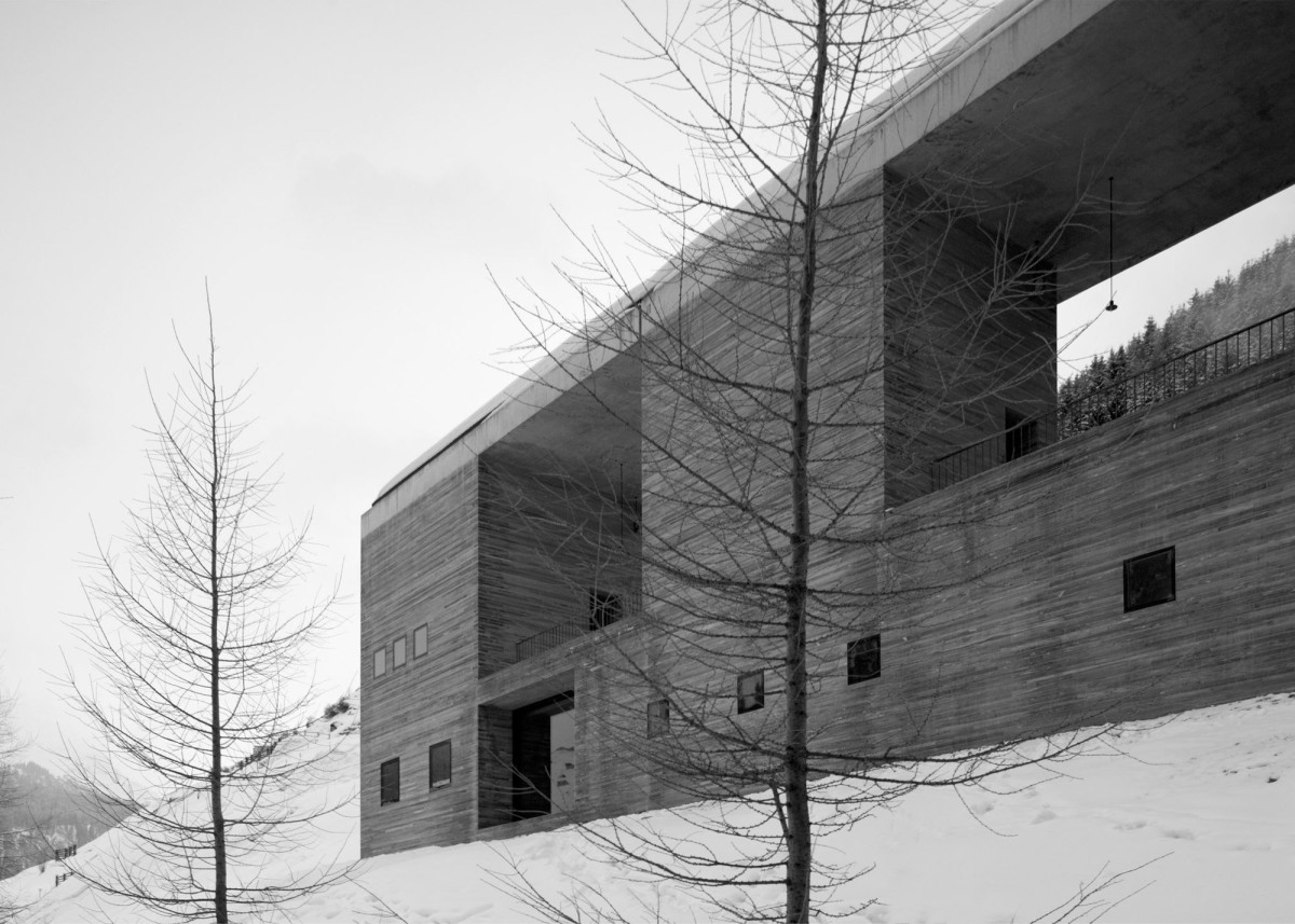 Peter Zumthor . Thermal baths and spa . Vals  (1)
