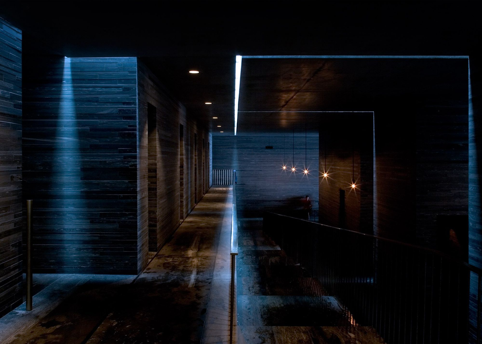 Peter Zumthor Thermal Baths And Spa Vals 10 A F