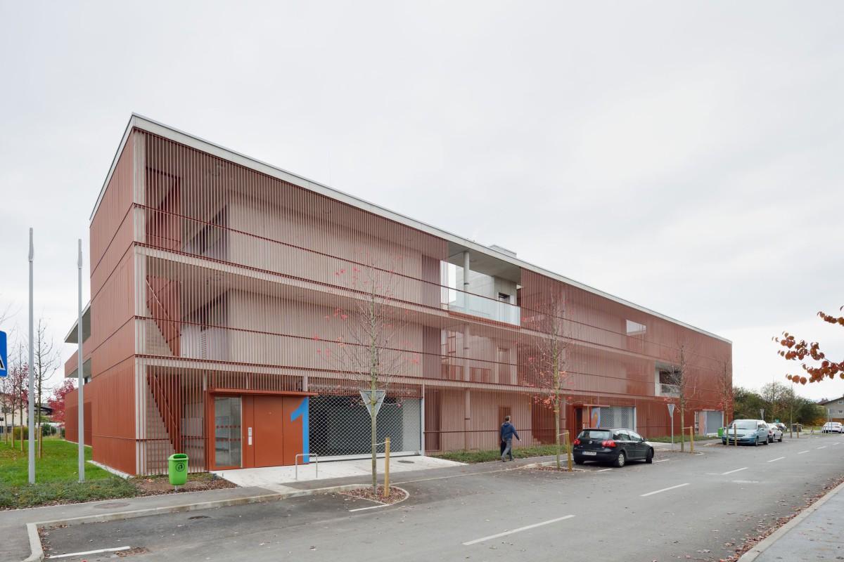 Bevk Perovic arhitekti   Housing Ob Progi Ljubljana 2016