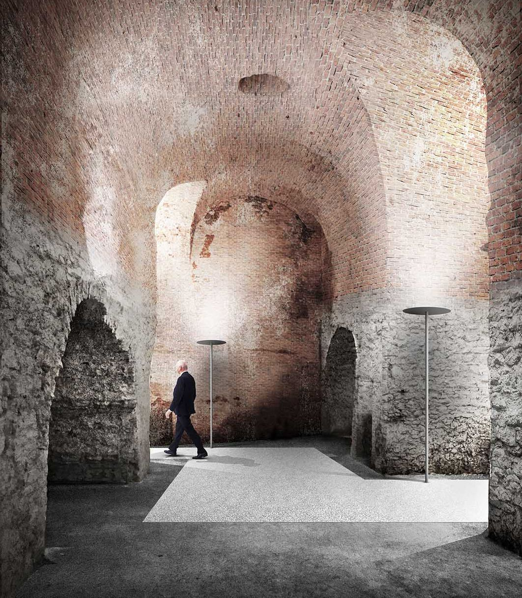 Bevk Perovic . new gallery and casemates renovation . Wiener Neustadt (3)