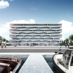 BIG .  Honeycomb  Albany Marina Residences Building 1 . Bahamas (5)