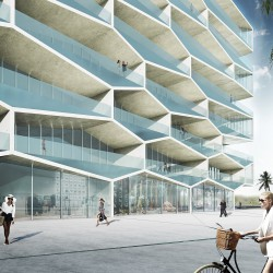BIG .  Honeycomb  Albany Marina Residences Building 1 . Bahamas (7)