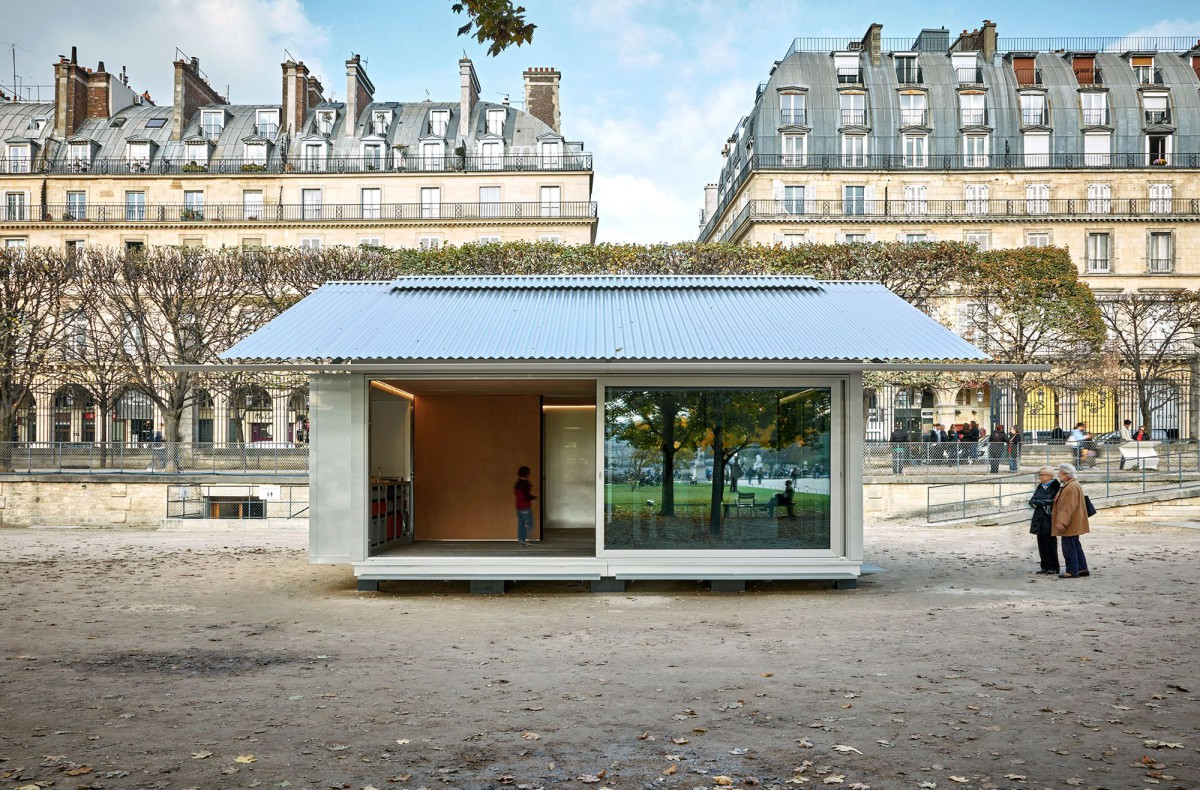 Jean Nouvel . SIMPLE  PREFAB HOUSE (1)