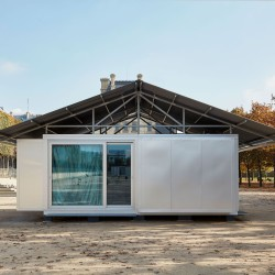 Jean Nouvel . SIMPLE  PREFAB HOUSE (3)