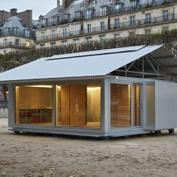 Jean Nouvel . SIMPLE  PREFAB HOUSE (6)