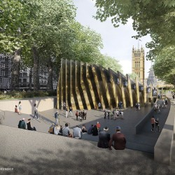 Adjaye . Holocaust Memorial . London  (2)