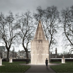 Caruso St John . Holocaust Memorial . London  (1)
