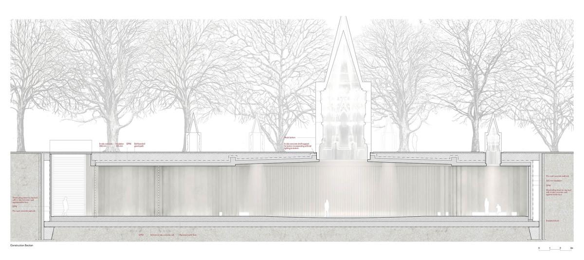 Caruso St John . Holocaust Memorial . London  (10)