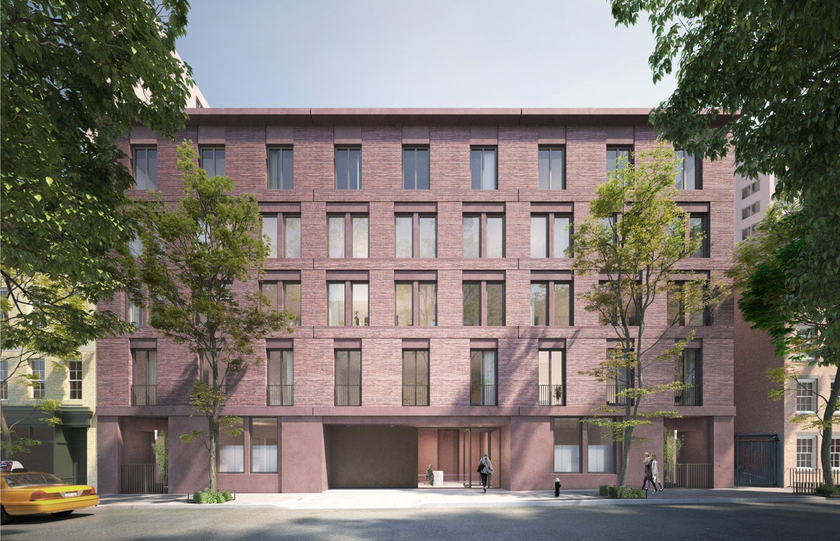 David Chipperfield . Jane Street apartment building . New York City (1)