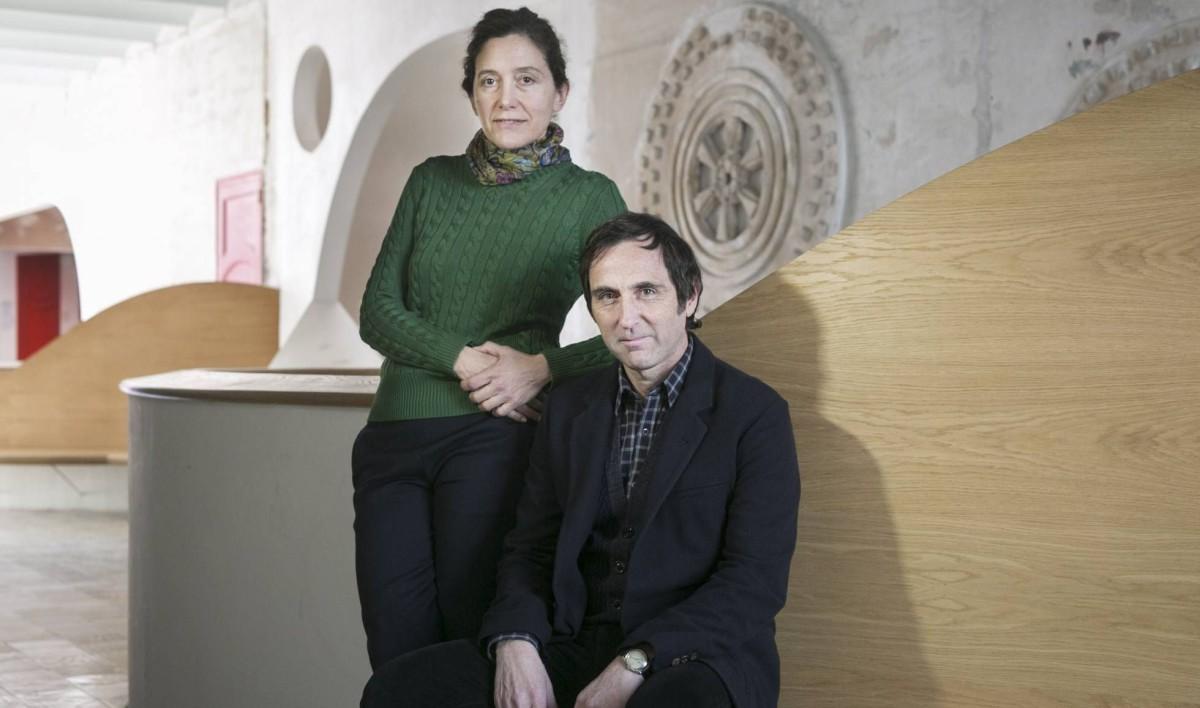 Flores Prats . repassen la seva feina amb JOSÉ ÁNGEL MONTAÑÉS