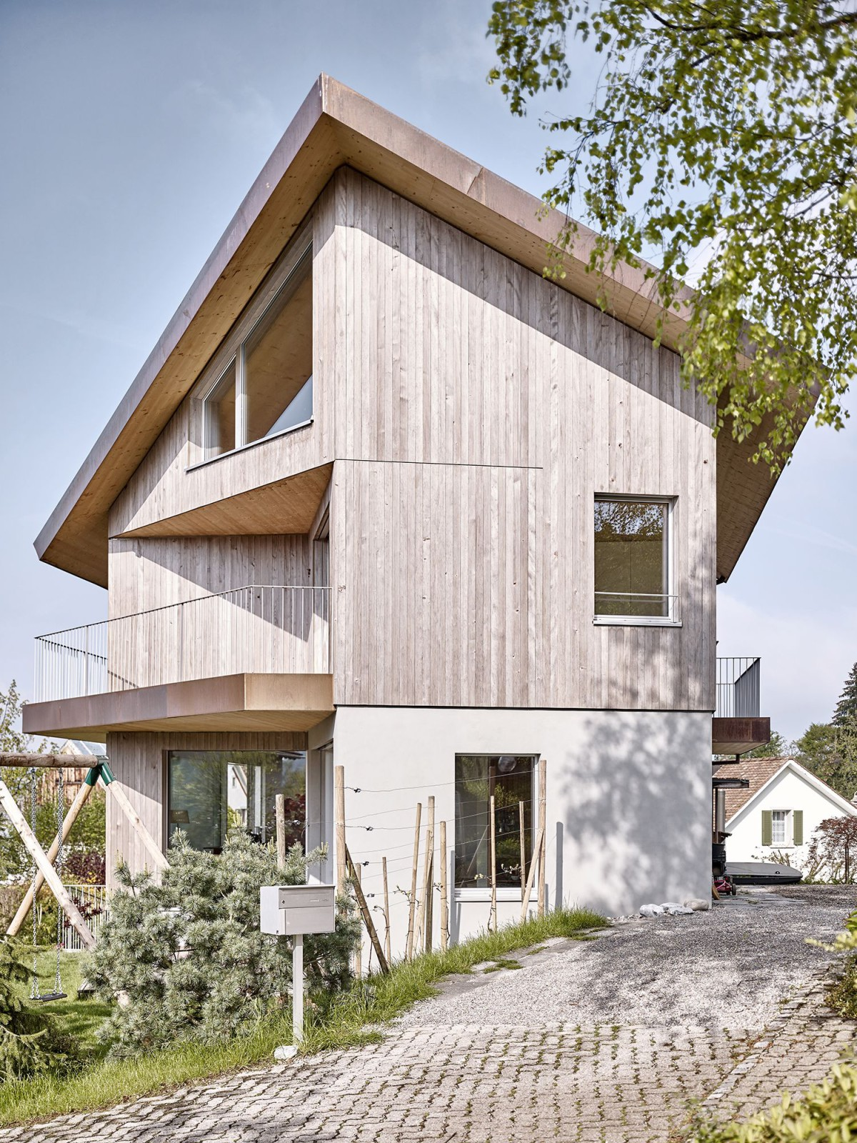 Zimmer schmidt architekten single family house staefa - Schmidt architekten ...