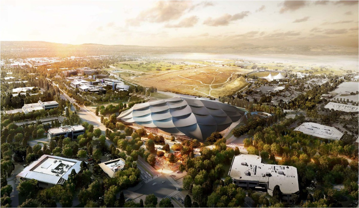 BIG . Heatherwick . Mountain View campus . california (1)