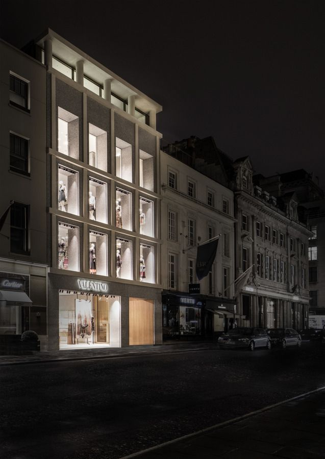 David Chipperfield . old bond street valentino flagship . london (1)