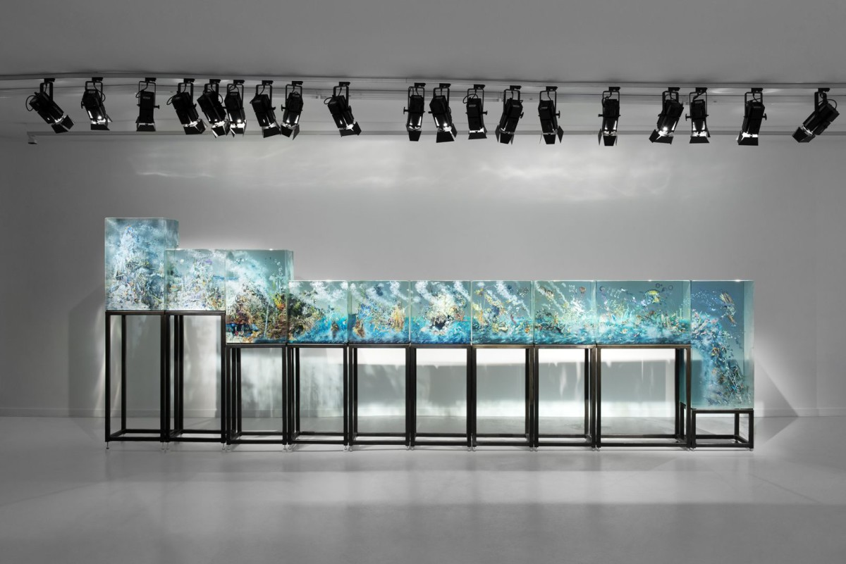 Grimm Gallery - Dustin Yellin - Installation image