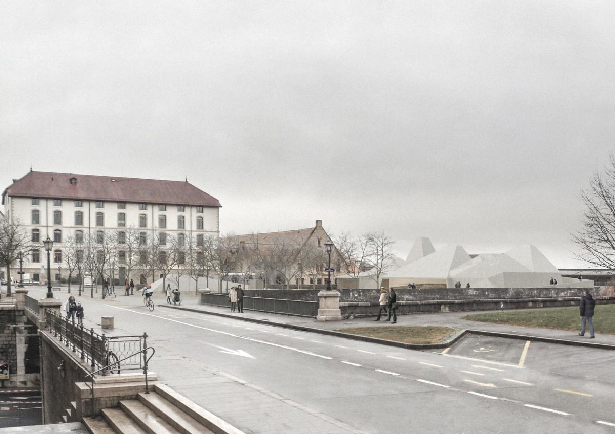 Ortalli Verrier . Bastion Saint-Antoine . Genève (1)