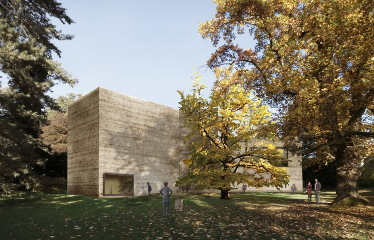 Peter Zumthor . Fondation Beyeler extension .  RiehenBasel (1)