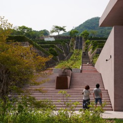 David Chipperfield . Cemetery chapel and visitor centre . Inagawa  (11)