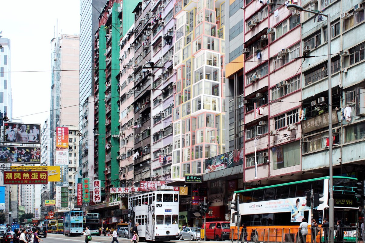Kwong Von Glinow  . Lamyuktseung . Towers within a Tower . Hong Kong  (1)