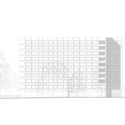 Lacroix Chessex .  Student Housing in Champel . Geneve (5)