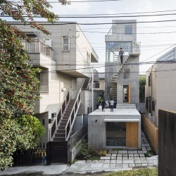 o+h . HUT AND TOWER HOUSE . Tokyo  (1)