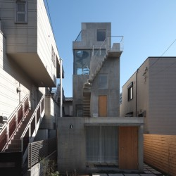 o+h . HUT AND TOWER HOUSE . Tokyo  (2)