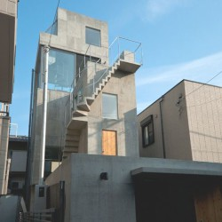 o+h . HUT AND TOWER HOUSE . Tokyo  (4)