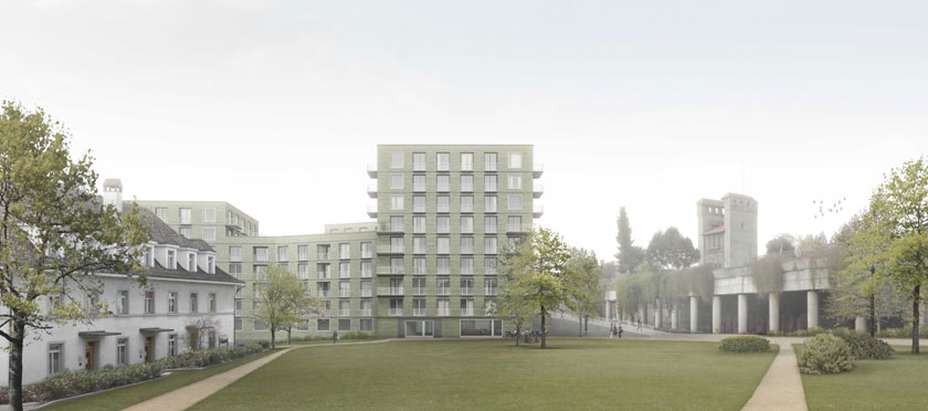 Caruso St John . Offices and Housing . Fribourg (1)
