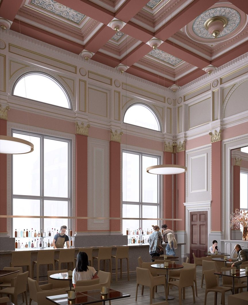 David Chipperfield . new Architecture Studio and café . London (1)