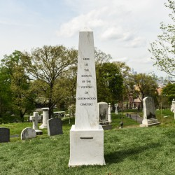 Sophie Calle . Here Lie the Secrets of Green-Wood Cemetery . 2017–2042 (1)