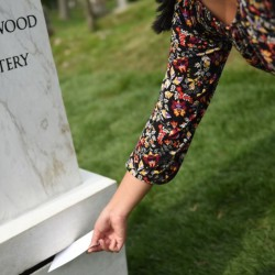 Sophie Calle . Here Lie the Secrets of Green-Wood Cemetery . 2017–2042 (2)