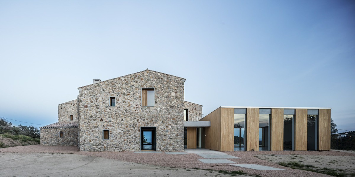 05 AM . REBUILD AND EXTENSION OF A COUNTRY HOUSE . Castell-Platja d'Aro (6)
