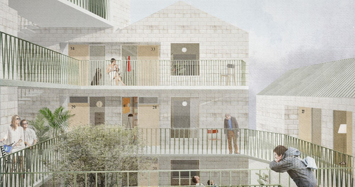 Duggan Morris . Forest Gate Co-Living . London (1)