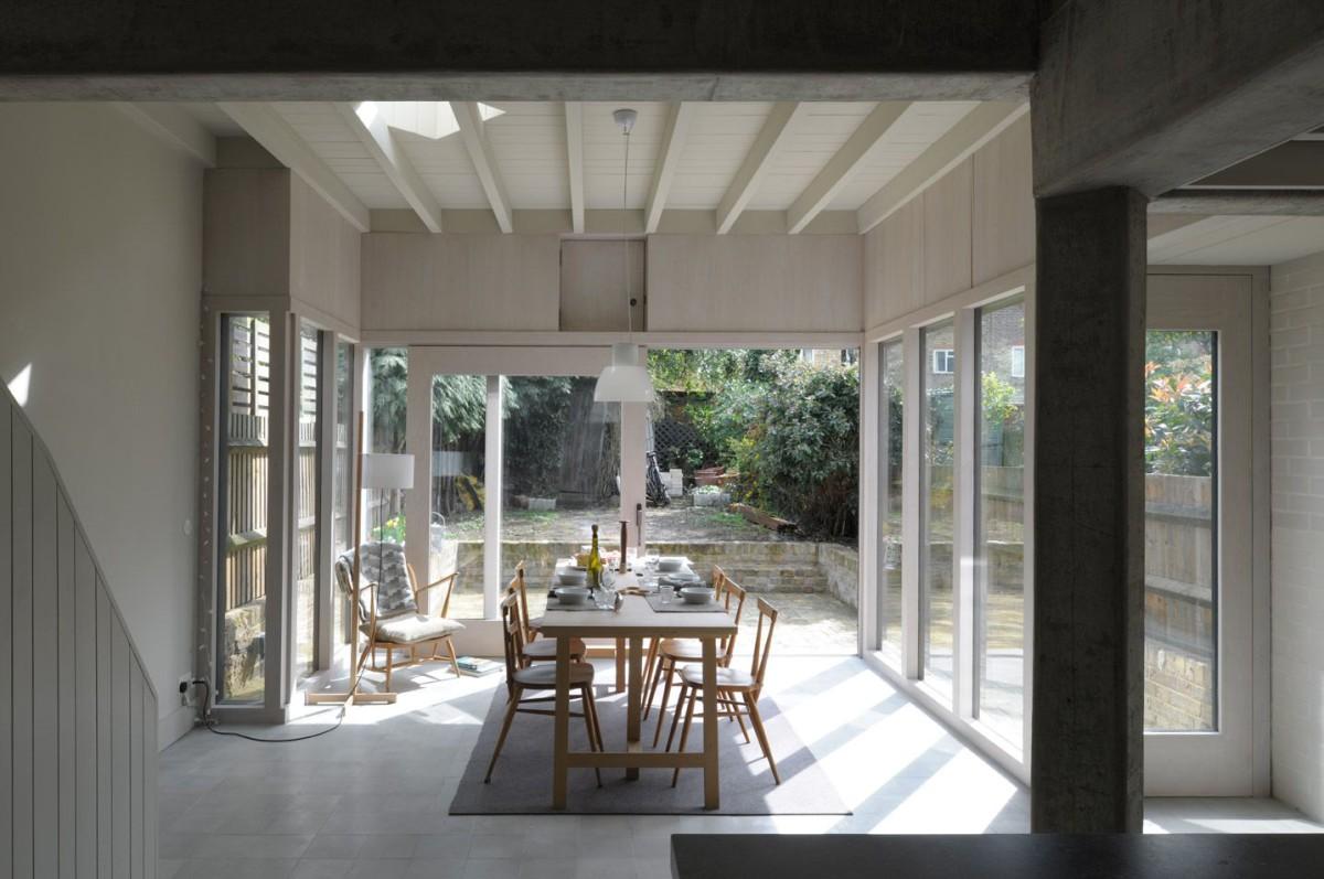 Sergison Bates . terraced House remodelling . Fulham (1)