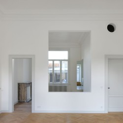 Bovenbouw Architectuur . Refurbishment of 3 historical buildings . Antwerp (10)
