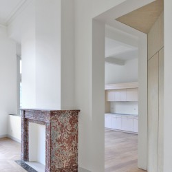 Bovenbouw Architectuur . Refurbishment of 3 historical buildings . Antwerp (13)